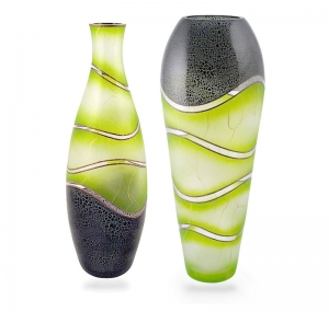 Crackle Lime Green