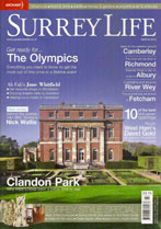 Surrey Life Cover March 2012